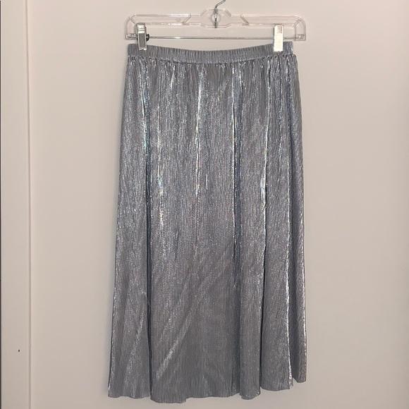 7eeb44886d Anthropologie Dresses & Skirts - NWOT Sunday in Brooklyn metallic plisse  skirt